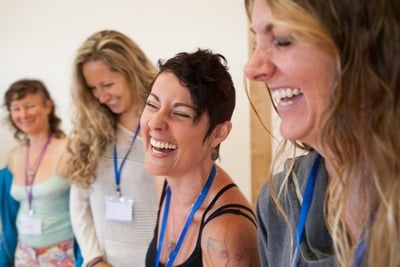 Somatica core training 2016 - women laughing